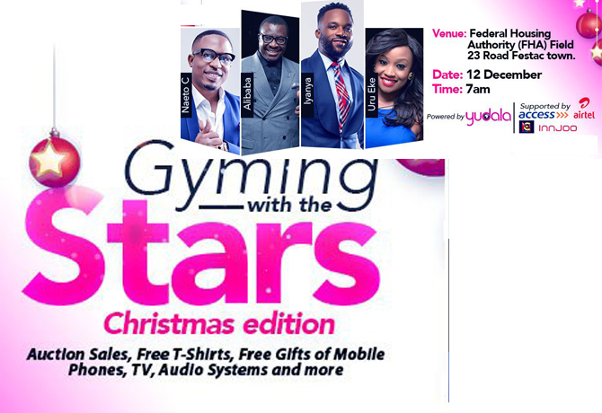 Festac events gyming with the stars by yudala