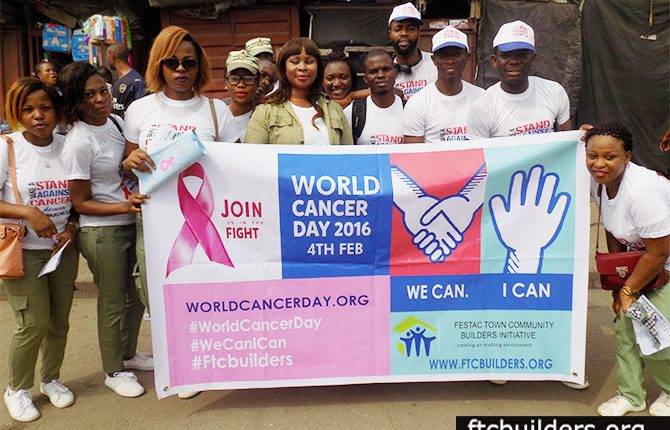 FTC BUILDERS – WALK THE WALK AGAINST CANCER FESTAC WITH YOUTH CORPERS