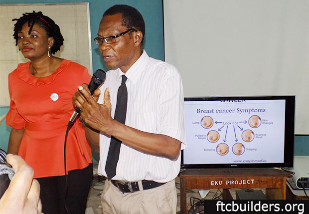 FTC BUILDERS – BREAST CANCER AWARENESS SEMINAR AT FESTAC GIRLS COLLEGE
