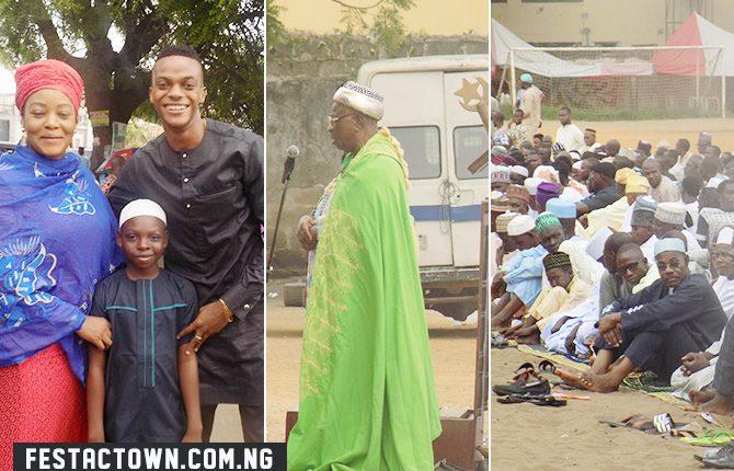 Eid al-Fitr Celebration in Festac Town