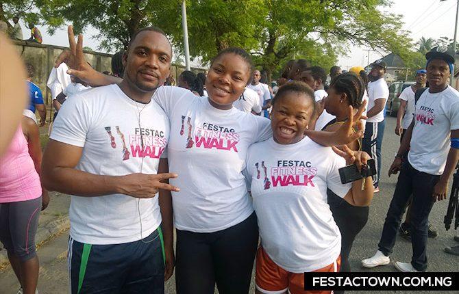 FESTAC FITNESS WALK IN PICS