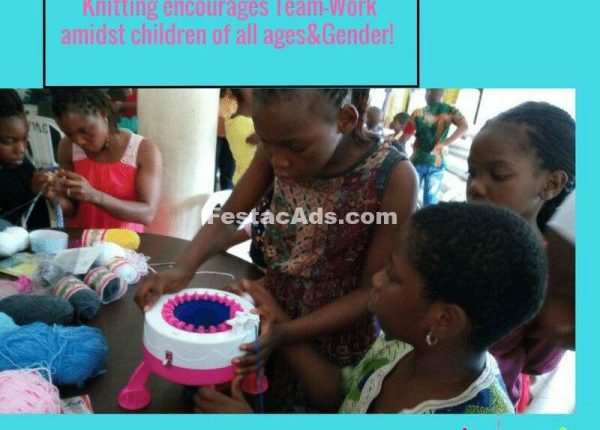 Knitting Classes for kids